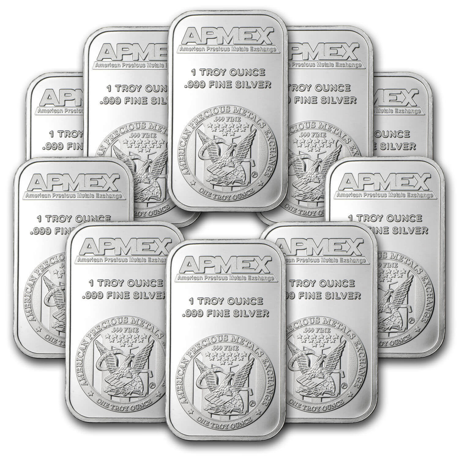 1 Troy oz .999 Pure Solid Silver Bar x1
