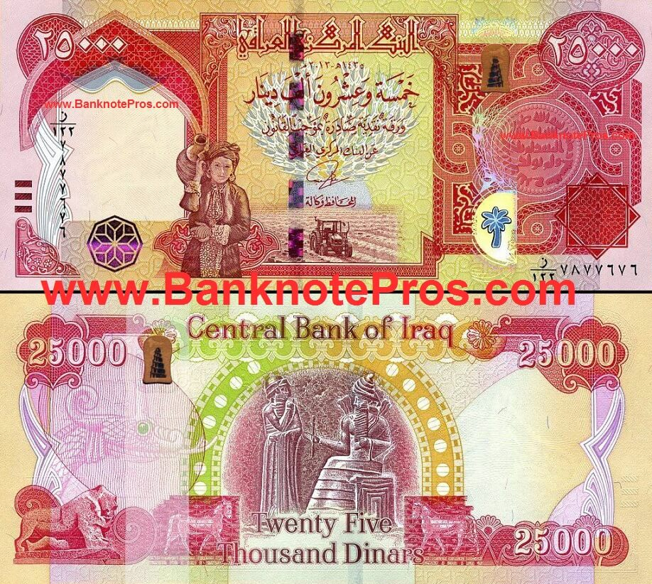 How Much Is The Iraqi Dinar Worth In Us Dollars May 2020