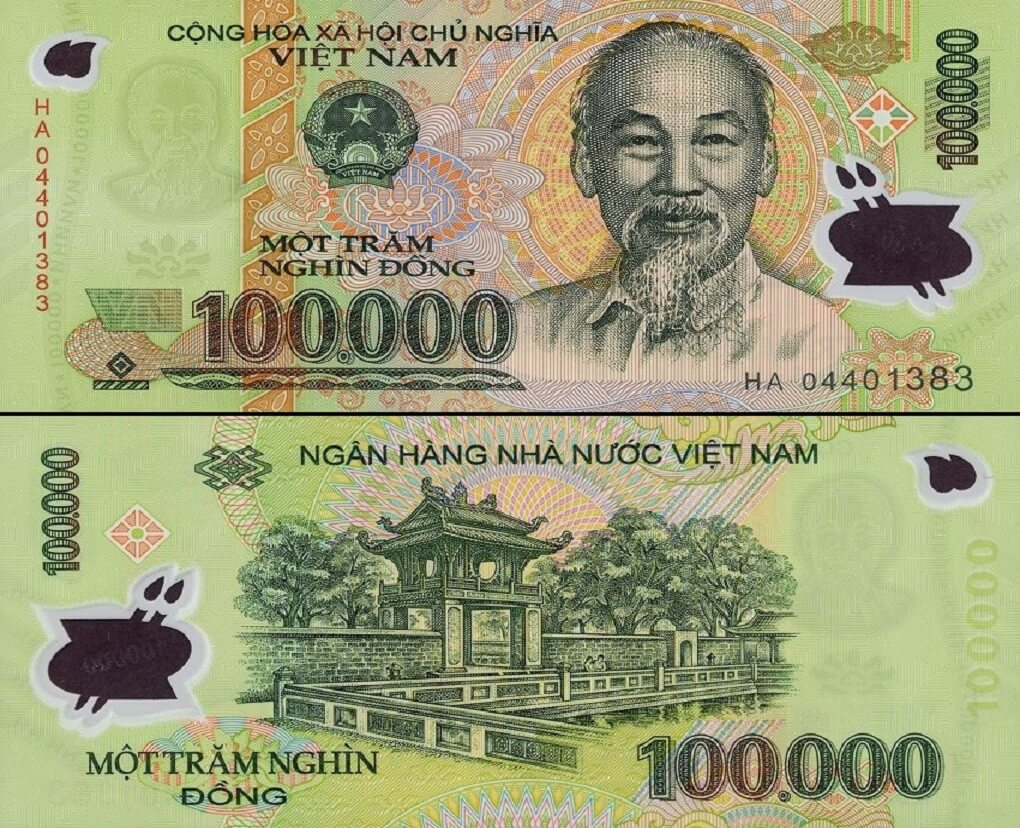 100,000 Vietnam Dong - Circulated