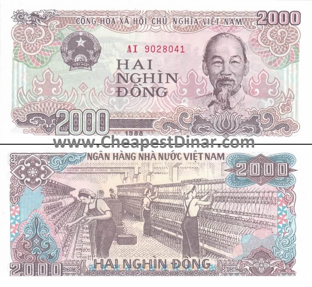 Vietnam Dong : Cheapest Dinar, Buy Iraqi Dinar, & Zimbabwe