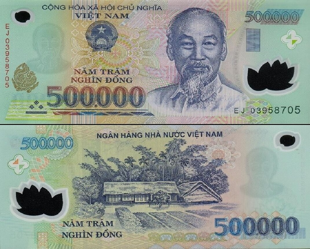 500 000 Vietnam Dong Uncirculated