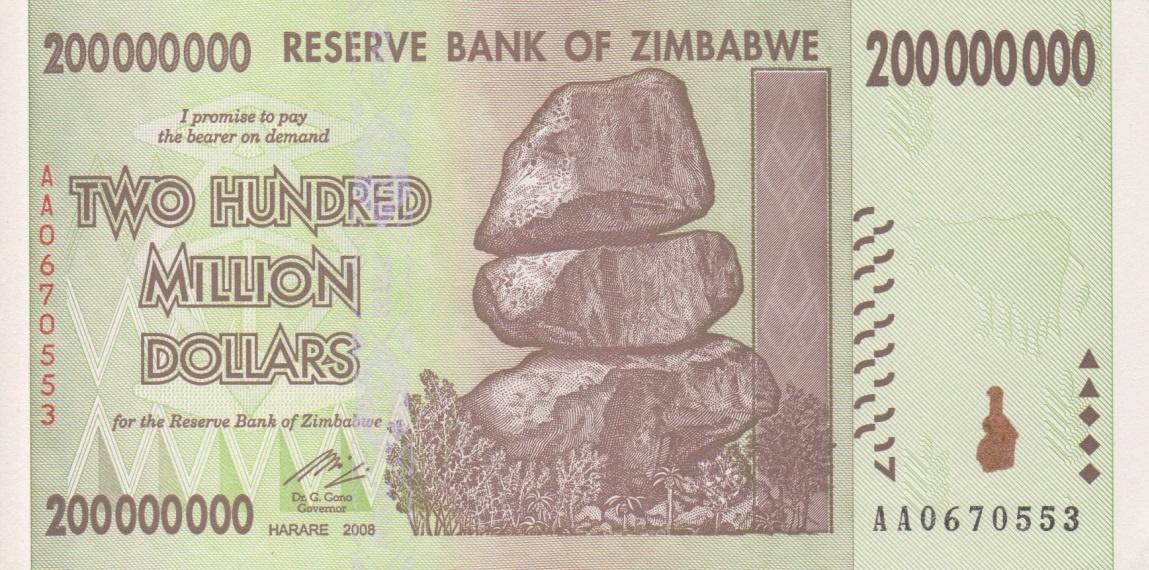 200 Million Zwd