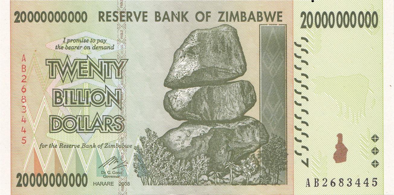 20 Billion Zwd