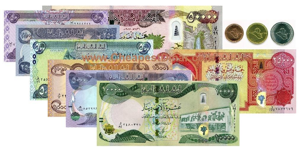 Iraqi Dinar Sets