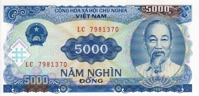 5 000 Vnd