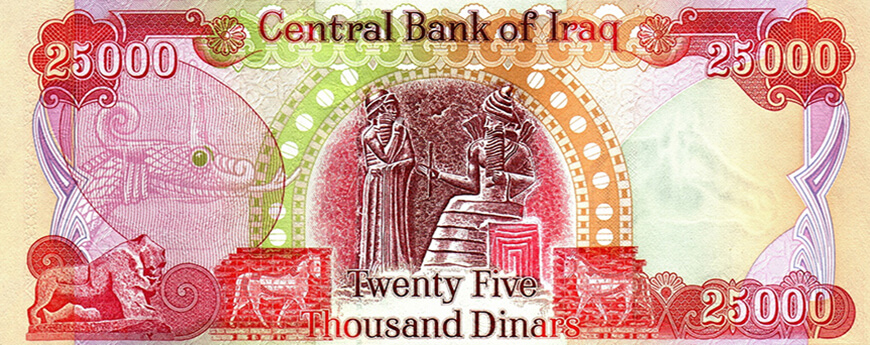 Iraqi dinar on forex international trading
