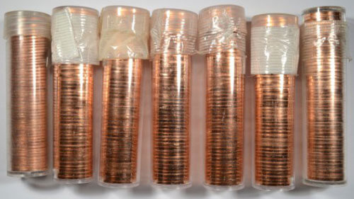 Wheat Pennies Unsearched 1 Roll - CIR